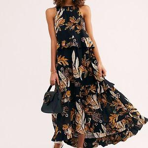 Free People Anita Printed Maxi Dress
